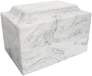Silverlight Urns Carrera Classic Cultured Marble Urn