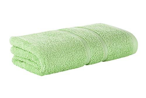 Premium Frottee Handtuch 50x100 cm in hellgrün von StickandShine in 500g/m² aus 100% Baumwolle Öko-TEX Standard 100 Materialien