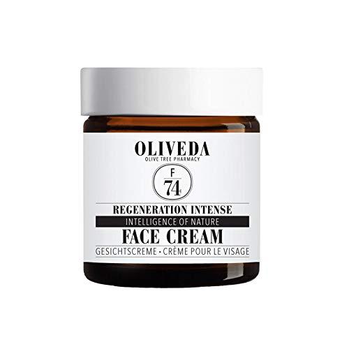 """Oliveda F74 - Regneration Intense Face Cream   mit Wirkkomplex """"Intelligence of Nature"""" + reichhaltige Gesichtsfpflege + schützt die Zellen - 60 ml"""