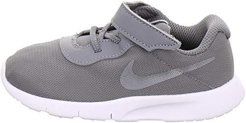 Nike Unisex-Kinder Kleinstkinder Sneaker Tanjun (TDV) Laufschuhe, Mehrfarbig (Gunsmoke/Gunsmoke-White 004), 26 EU