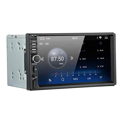 【Radio universale】 Autoradio LEXXSON Android 2 Din con navigazione, AM FM Radio integrato Ricevitore GPS Supporto WiFi Ingresso telecamera posteriore Controllo volante Collegamento specchio
