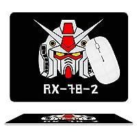 レザー 革 マウスパッド ネオ ジオンガンダム 光学式マウス対応 滑り止め オフィス FPSゲーム デスクマット ゲーミングマウスパット まうすぱっど PCマット キーボードパッド 耐久性が良い おしゃれ マウスの精密度を上がる