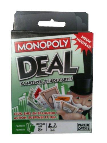 Hasbro - Parker - Jeu de société - Jeu De Carte Monopoly - Français/Néerlandais