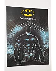 BATMAN COLOURING BOOK WITH STICKERS (Single)