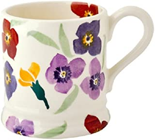EMMA BRIDGEWATER POTTERY NEW HALF PINT MUG - Wallflower