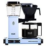 Technivorm Moccamaster 53952 KBG, 10-Cup Coffee Maker, 40 oz, Sky Blue