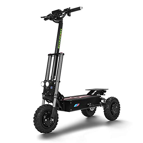 LJ Home Scooter Eléctrico 3000w Scooter Todoterreno Scooter De Tres Ruedas Scooter Eléctrico