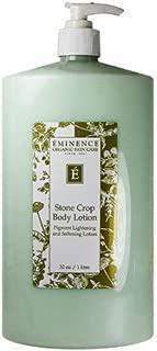 Eminence Organic Skincare Stone Crop Body Lotion, 32 Fluid Ounce