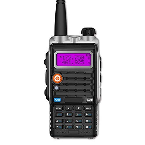 Zxh Interphone Ricetrasmittente, Dual Band FM 50 Km Intelligente Citofono Ad Alta Potenza Impermeabile Ingegneria proprietà Walkie (1 Paio)