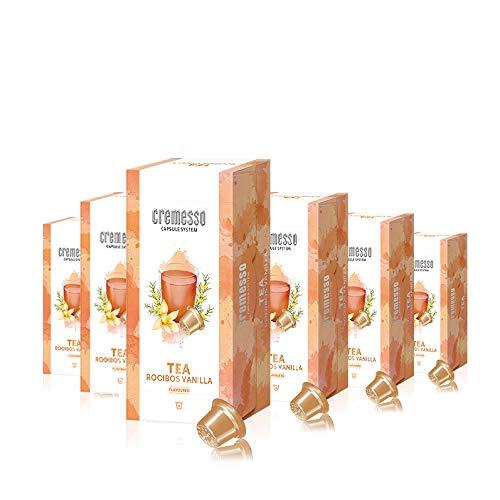 Cremesso Tea Rooibos Vanilla, 16 Kapseln, 6er Pack