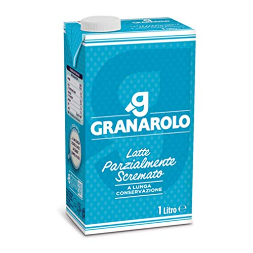 12 x BRIK LATTE UHT GRANAROLO UHT MAGRO LATTE PARZIALMENTE SCREMATO 1 LITRO