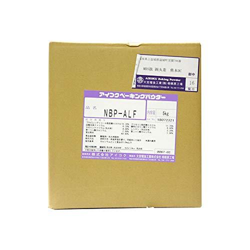 【業務用】愛国 (アイコク) ベーキングパウダー NBP-ALF 5kg