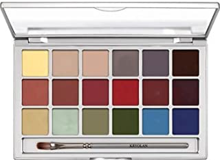 Kryolan Coloring Vision Palette 18 Color 1018 Effects Makeup Palette