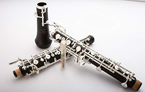 Glory Oboe C Key Cupronickel Plated Silver Woodwind Musical Instrument for Beginner