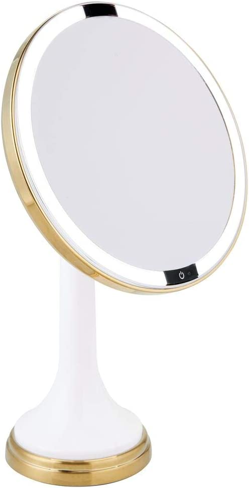 mDesign Modern Motion Sensor LED Bathroom Makeup Vanity Special Now free shipping price for a limited time Lighted