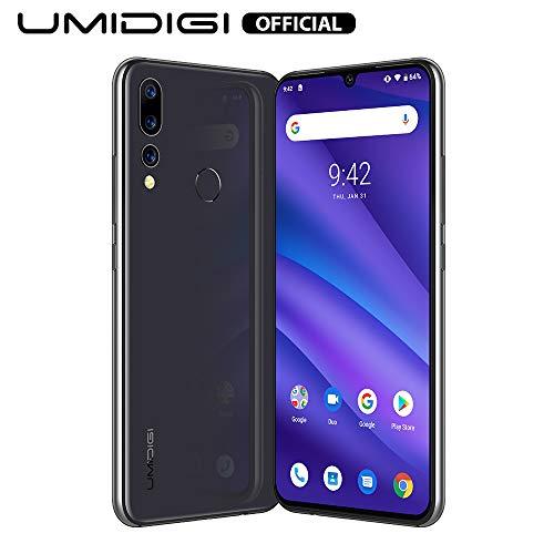 UMIDIGI A5 Pro Smartphone ohne vertrag, Handy 4GB+32GB(256GB erweiterbar), 6.3