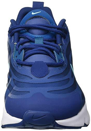 Nike Air MAX EXOSENSE, Zapatillas para Correr Hombre, Mystic Navy Bleached Turq Coastal Blue Green Abyss White Leche Blue, 40.5 EU