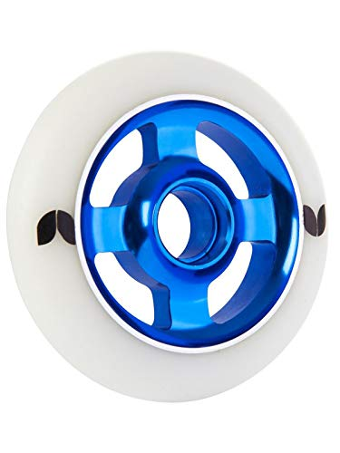 Blazer Scooter Wheel Stormer 4 Spoke Aluminium 100mm - Wit Blauw - One Size