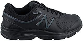 New Balance Women's, 411v2 Walking Sneaker Black 9 B