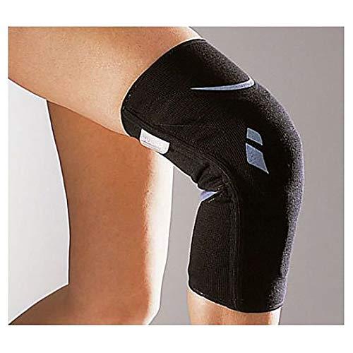 Rodillera Silistab Genu Negra T/4 40-42 cm - Refuerza la Articulación ✅