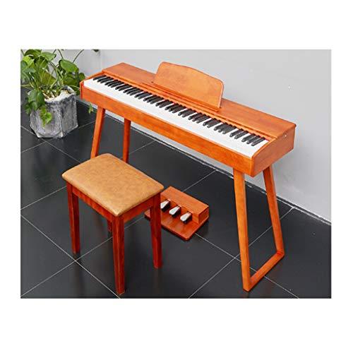 yankai Piano Eléctrico Digital con Teclado De 88 Teclas De Acción Martillo,...