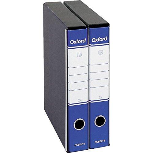 OXFORD raccoglitori protocollo dorso 5-BLU (8 pz. 2,38 cad)