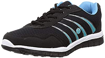 ACTION Women's Esl-401-Black-Sky-Blue_7 Esl-401-Black-Sky Trekking Shoes-7 UK (40 EU) (ESL-401)