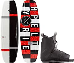 One Size Fits Most - Designed for Men's Sizes 7 - 13 and Women's Sizes 8 - 15 MOLDED-IN FINS - Provides a bit of extra stability when on edge and while sitting flat to boost your confidence on the water. CONTINUOUS ROCKER - The Hyperlite Motive is pr...