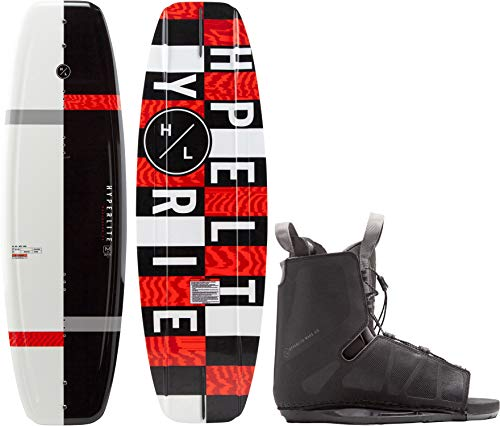 Hyperlite Motive Wakeboard w/Frequency Bindings Mens Sz 140cm/(One Size)