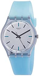 in budget affordable Swatch Originals Sea-Pool Ladies Watch.Gray dial with silicone strap GM185