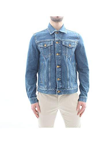 Tommy Hilfiger 7283J Giubbotto uomo Blue Jeans Stone Wash Jacket Man