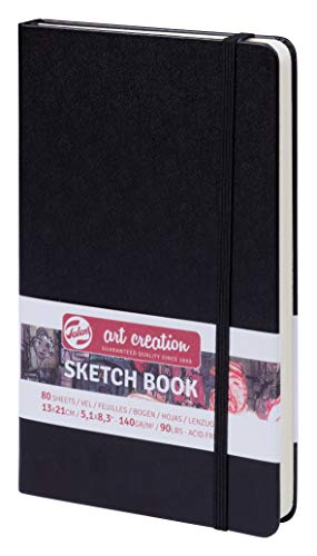 NEU Art Creation Sketch Book, 13x21cm, 80 Blatt