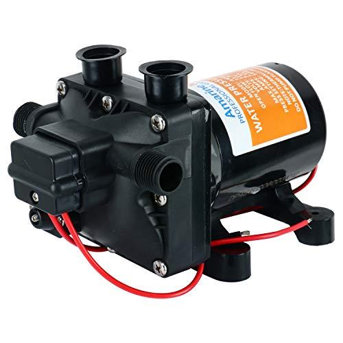 Amarine-made 42-Series Washdown Water Pressure Diaphragm Pump w/ Variable Flow - 12v, 3.0GPM, 55PSI