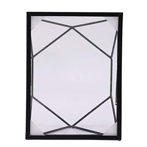 LHQ-HQ - Cornice per foto geometrica, in metallo, per esempio di piante, per la casa e la decorazione da tavolo stereo