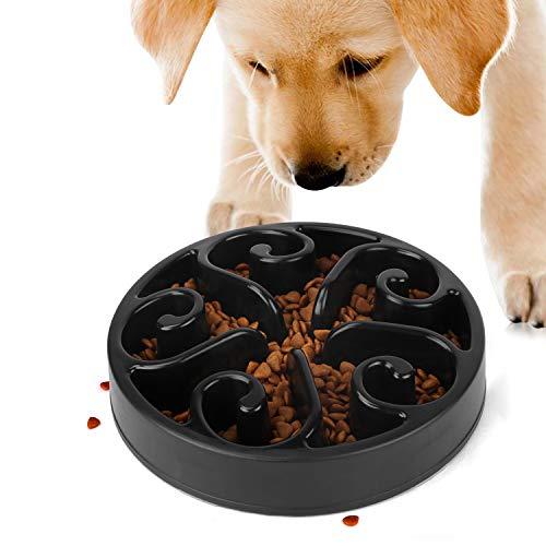 JASGOOD Slow Feeder Dog Bowl Slow Eat Feeder for Fun Slow Feeding Interactive Bloat Stop Dog Bowls