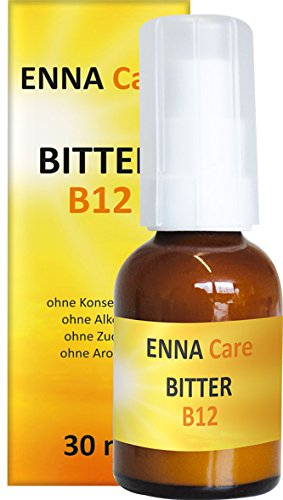 Adrisan ENNA Care® Bitter B12 -30 ml - Nahrungsergänzung Bitterstoffe Tropfen