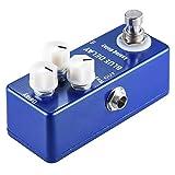 CHENTAOMAYAN Mini versión de Mad Professor Deep Blue Delay Guitarra Pedal de Efectos Verdad Puente de Zinc-Aluminio del Cuerpo de aleación (Color : Blue)