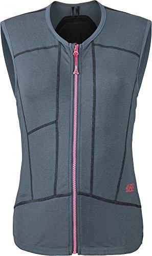 Atomic Damen Ski-Protektor-Weste, Verstellbar, Weich und atmungsaktiv, Ridgeline, AN5205006L, Größe L, Blau (Shade)