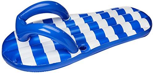 Blue Wave Marine Blue Flip Flop Inflatable Pool Float, 71u0022