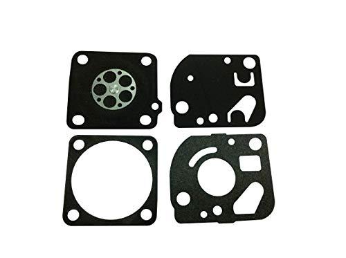C·T·S Kit de junta de carburador y diafragma sustituye a Ruixing RX-1 para cortadora Homelite 26cc 30cc soplador 42cc motosierra Ruixing carburador