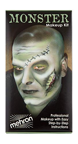 Mehron Makeup Premium Character Kit (Monster/Frankenstein)