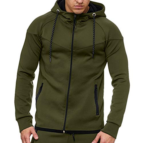 showsing-mannen kleding Mens Zip up Sweatshirt Top - Sneldrogende Sweater, Ademend - Lange mouwen Herfst Winter Casual Sweatshirt Top Blouse trainingspakken