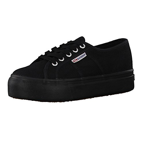 Superga Damen 2790acotw Linea Up And Down Sneaker, Schwarz (Full Black 996), 40 EU