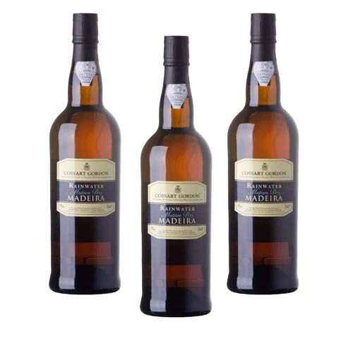 Madeirawein Cossart Gordon Rainwater Medium Dry - Dessertwein - 3 Flaschen