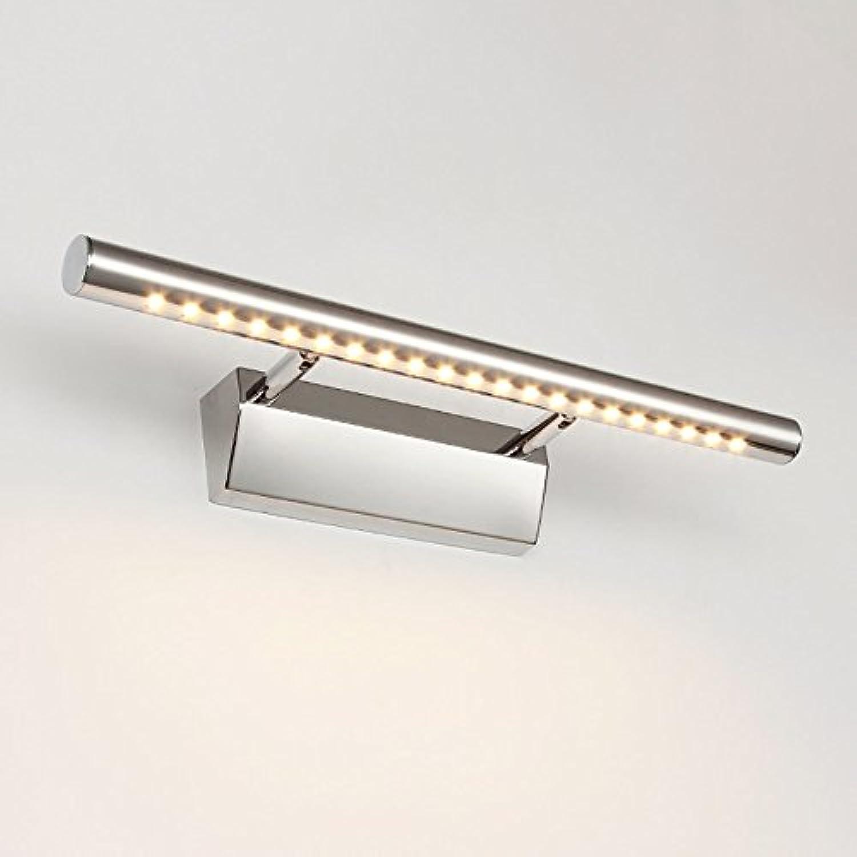 Front spiegelleuchten Spiegel frontlicht led wasserdicht anti-fog badezimmer badezimmer spiegel wandleuchte Europischen einfach modernen minimalistischen schaltschrank licht led-licht rechteckig Spiegel lampe wandleuchte ( Farbe   Warm light-40CM-5W )