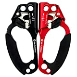 GM CLIMBING Climbing Hand Ascender (Right Hand and Left Hand) for Arborist Tree Climbing Rigging CE UIAA