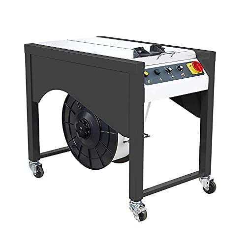 IDL Packaging Semi-Automatic Table Top Strapping Machine for Polypropylene (PP) Strapping – Closed...