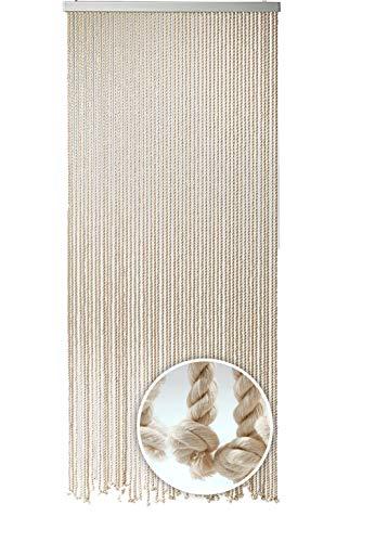 Kobolo Seilvorhang Türvorhang MARITIM 54 Stränge Dekovorhang - 185 x195 cm