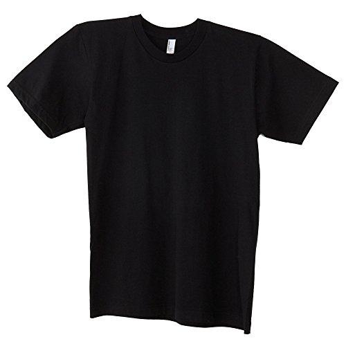 Amereican Apparel - Camiseta lisa básica de algodón super suave de manga...