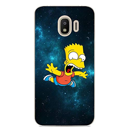 Soft Clear Shockproof Thin Durable Flexible Case for Samsung Galaxy J2 PRO 2018-The-Simpson Homer-Father 7